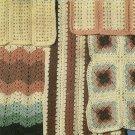 *Crochet * 5 * Mile-A-Minute Double Quick Afghans
