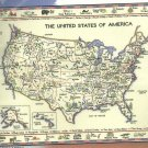 *Cross Stitch Kit Heritage Stitchcraft THE UNITED STATES OF AMERICA