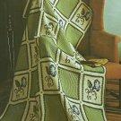 Bernat Americana Afghans - Heirloom Designs - 12 Patterns