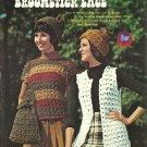*Broomstick Lace Fashions - Baby - Hats - Vest - Instructions