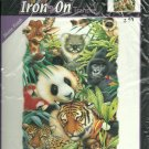 "*Iron-On Transfer - Full Color - Jungle Animals - 8"" x 9"""