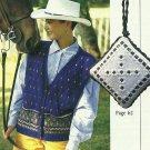 * McCall's Needlework 1993 - Needlepoint Pillow - Antique Sampler