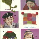 * Family Circle EASY Knitting plus Crochet - Adorable Baby Hats
