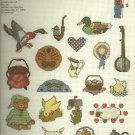 *Cross Stitch Pattern - 21 MINI MOTIF DESIGNS ~ Graphworks Ltd.