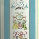 *Cross Stitch Kit FREE BATH SAMPLER Needle Treasures