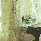 "*Crochet Lacy Baby Afghan - Circular 48"" Diameter"