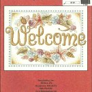 *Cross Stitch Pattern SEASHELL WELCOME Imaginating Inc.