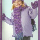 * Knit Patons Kids - Twister Sisters - Poncho Caps Sweaters