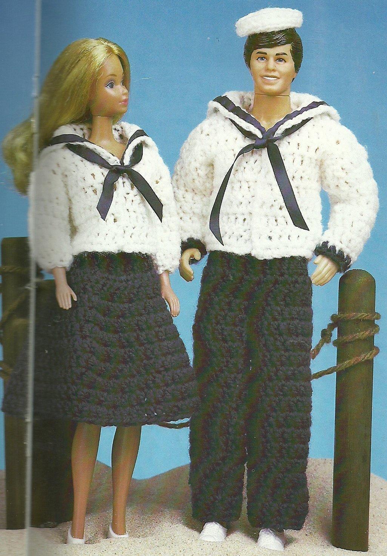 * Crochet Fashion Doll - PC Clipper Set - Cactus Garden
