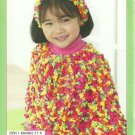 * Knit/Crochet Patons Poncho for Adult and Kids - OoH La La
