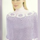 * Knit and Crochet PATONS Elegant Poncho Patterns