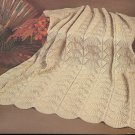 * Knit / Crochet  * 12 * Afghans /Aran Crochet - 2 Lace Knit Patterns