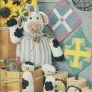 * Annie's Attic Crochet Comical Cow - Fashion Dolls - Afghan - Filet Crochet Curtain
