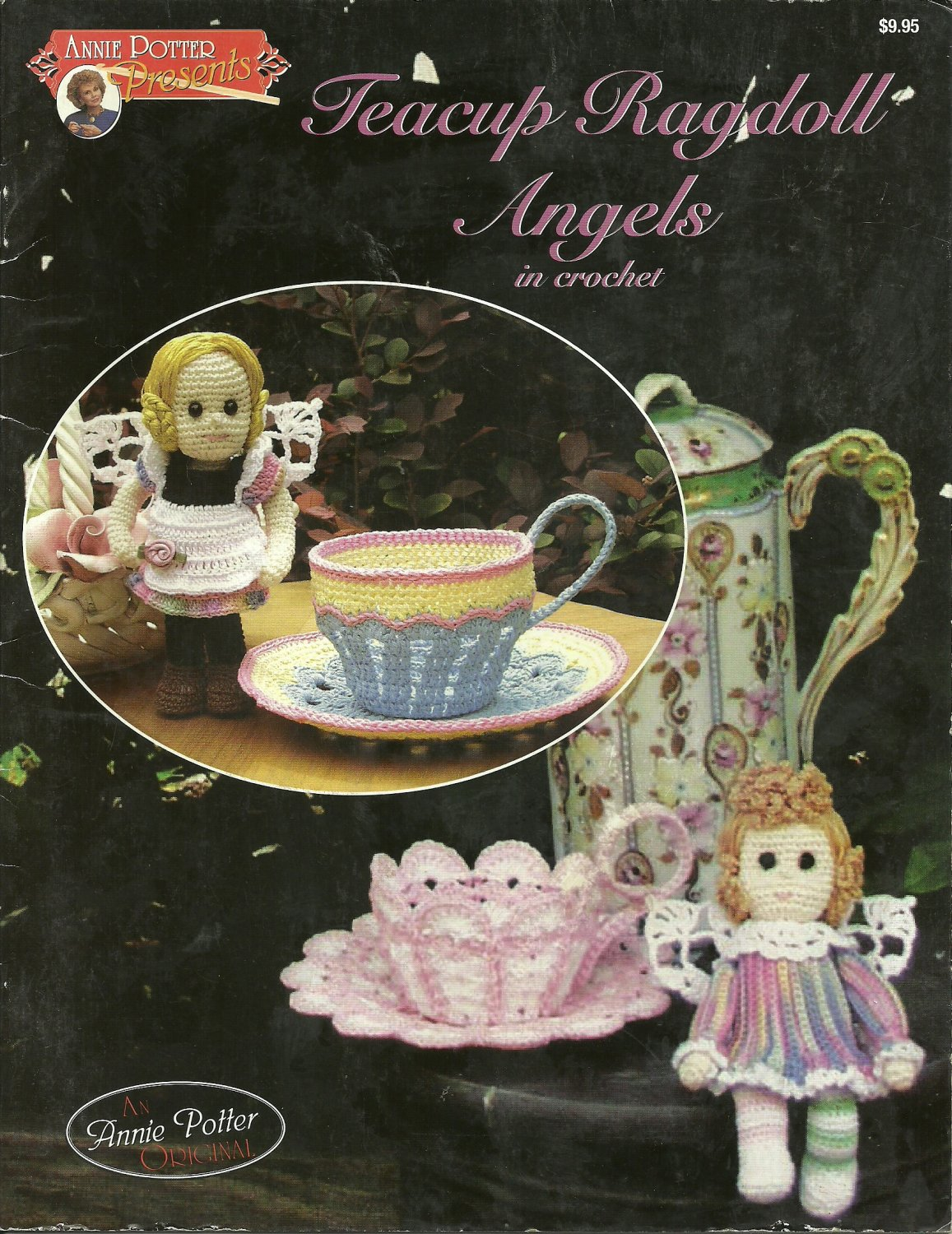 """**Teacup Ragdoll Angels in Crochet by Annie Potter - 6"""" Doll Patterns"""