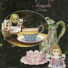 "**Teacup Ragdoll Angels in Crochet by Annie Potter - 6"" Doll Patterns"