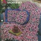 *Annie's Crochet Quilt Afghan Club - Raspberry Diamonds Afghan Set