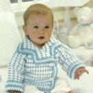 *Crochet with Heart - Starburst Afghan - Li'l Boy Jacket - Farmer Bob and Friends