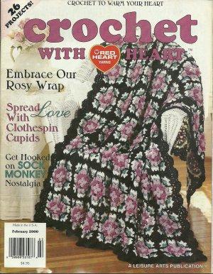 *Crochet with Heart - Rose Afghan - Fisherman - 3 Baby Afghans