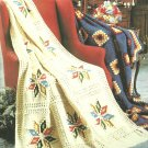 *The Afghan Book LA #185 - 17 Afghan Patterns to Knit and Crochet