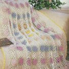 *Crochet Field of Flowers Afghan - Cat and Mouse Sweats - PC Tulip Coasters