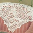 *Crochet Fantasy Filet Butterfly - Bunny - Pegasus - Baby Afghan +