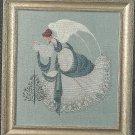 Lavender & Lace ICE ANGEL Cross stitch Pattern #22
