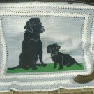 Mother Dog and Puppy - Butterflies - Crochet Fantasy