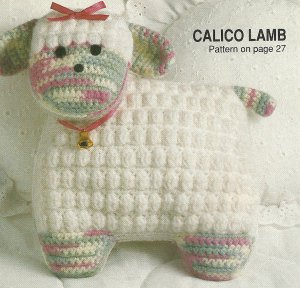 *Crochet Home Magazine - Star Afghan - Lambie Pillow - Bath Set - Baby Items