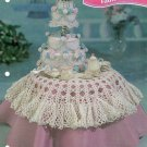 *Annie's Attic - Crochet Wedding Cake and Tablecloth