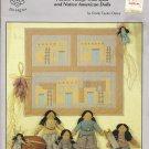 *Southwestern Style Pueblo Village Wall Quilt and Dolls