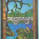 *Stained Glass Art - Hidden House Window Pattern J-20