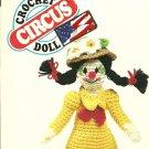 "*Daisy Clown Doll Crochet Pattern - 15.5"" tall -"