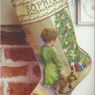 *Christmas Cross Stitch Stocking Kit - Child on Christmas Morning