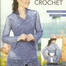 *Unforgettable Crochet - Lacy Cardigan in Worsted Yarn