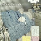 Crochet Baby Blue Lace - Baby Love - Afghan Collector's Series