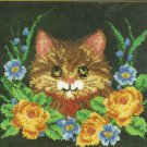 "** Latch Hook pattern - Kitten  - 30"" X 30"""