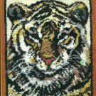 "** Latch Hook pattern - Tiger  - 30"" X 36"""