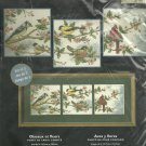 ** Bucilla Cross Stitch KIT   BIRDS & BLOSSOMS