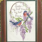 ** Cross Stitch kit by Sam Hawkins - Thoughts Of You - Birds