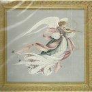 ** Lavender & Lace Cross Stitch KIT Angel Of Spring