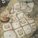 ** Buds N' Roses Afghan - Annie's Crochet Quilt Afghan Pattern
