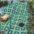 ** Turquoise Square Afghan - Annie's Crochet Quilt Afghan Pattern