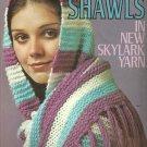 ** Columbia Minerva Shawls in Skylark Yarn - Crochet and Knit Patterns