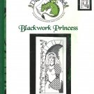 ** Cross Stitch Dragon Dreams BLACKWORK PRINCESS J. Aikman -Smith