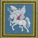 ** Fairy Lace Cross Stitch ~ Pegasus 2001 Near North Treasures