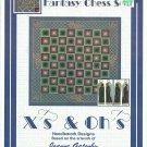 ** X'S AND OH'S Cross Stitch Pattern FANTASY CHESS SET 2004