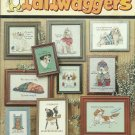 ** 10 DOG Cross Stitch Patterns ~ TAILWAGGERS DOGS  2000