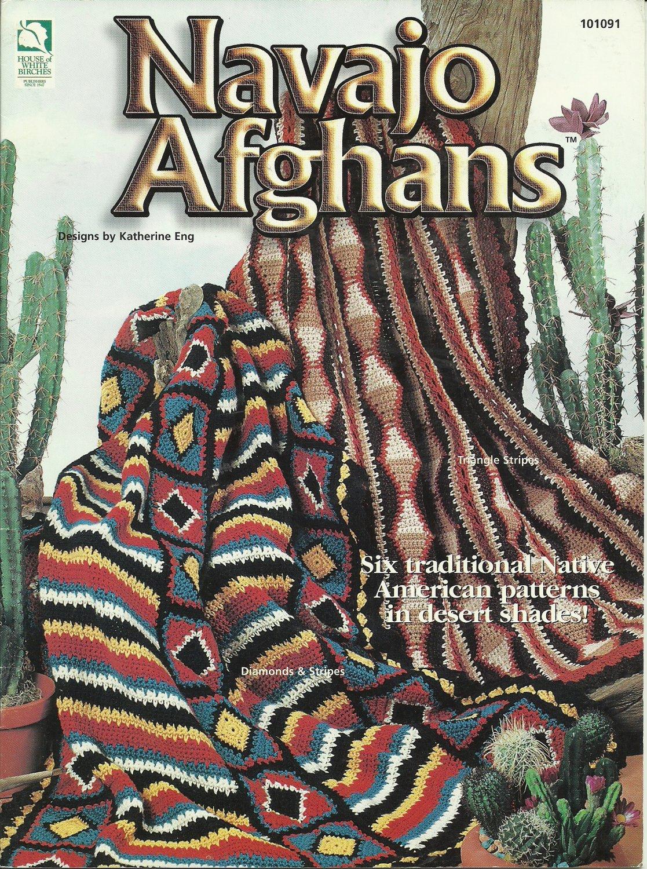 Crochet Navajo Afghan Patterns Southwest Indian Design