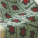 ** Grannies Gone Wild - 6 Scrap Yarn Afghans - Christmas Granny