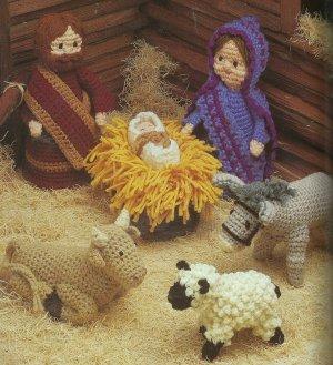 ** Annie's Attic Nativity/Creche - Angels - Santa/Snowman Afghans MORE